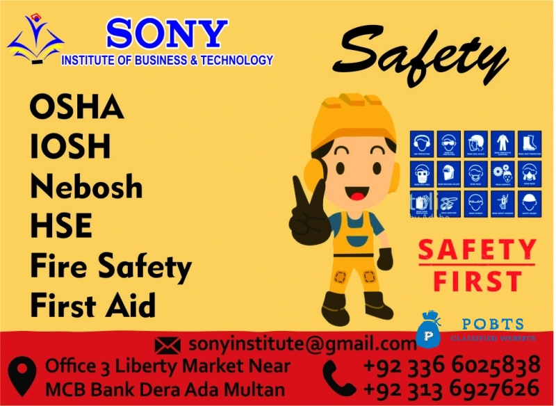 Safety Courses In Multan P.k