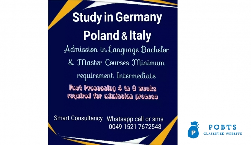 Study in Germany and Poland - Post Free ad POBTS™Classified Buy