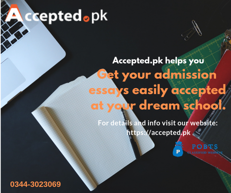 Get Accepted = perfect Admission Essay Writing Service