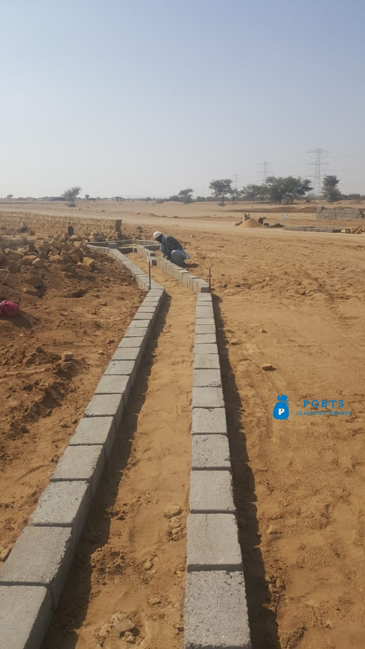 FARM HOUSES : Plots Land on installments for Sale Super Highway