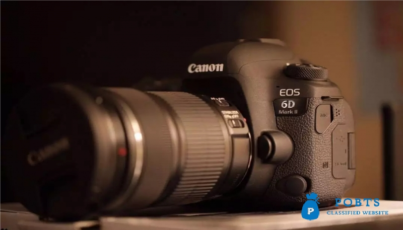 Canon EOS-6D Dslr Camera With Warranty