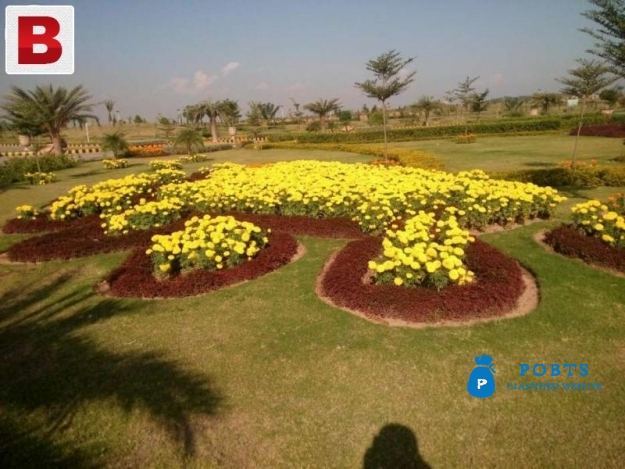 Park Face Best Location Plot For Sale In Gulberg Islamabad