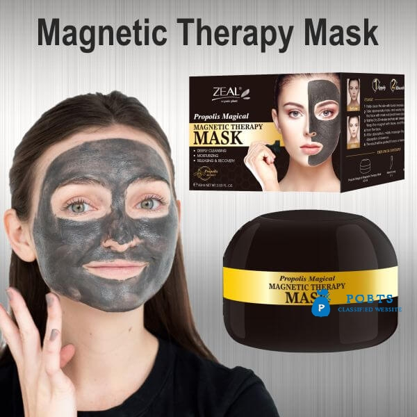 Black Magnetic Face Mask in Pakistan