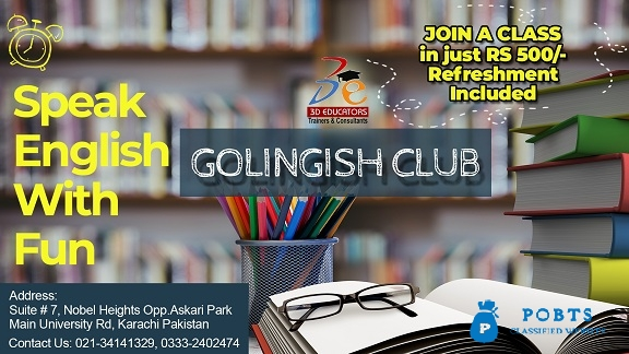 Golingish Club - Speak English With Fun