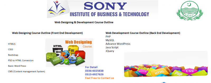 Web Designing & Development Courses In Multan
