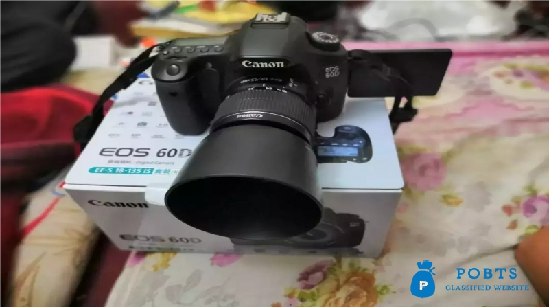 Canon 60D With 18-55MM Lens