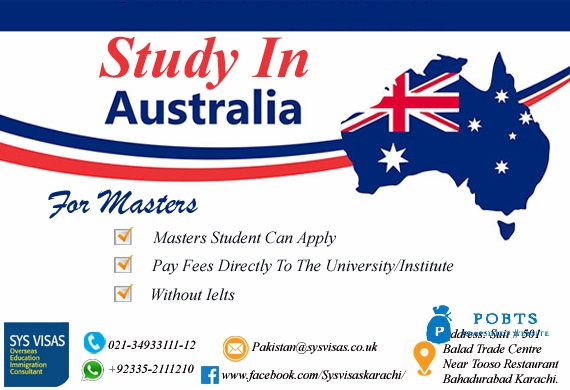 Study In Australia For Masters