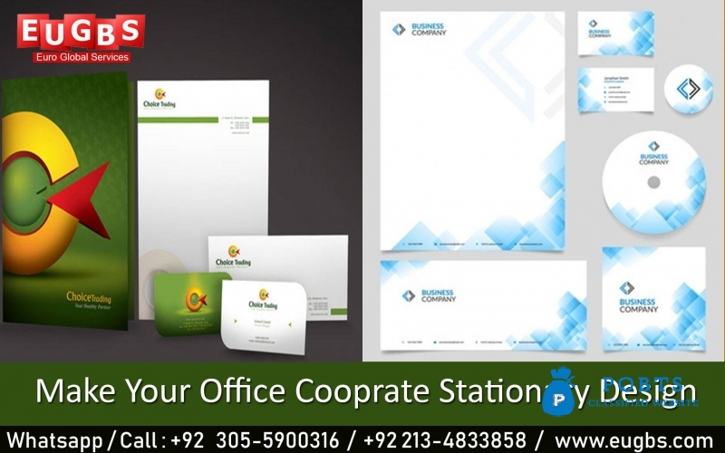 Office Cooperate Stationary Design
