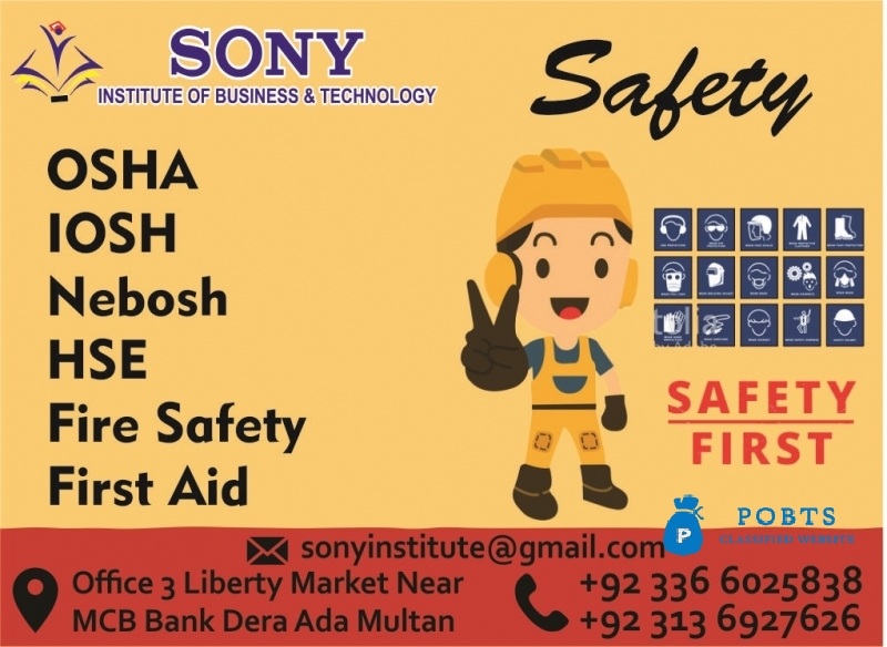 Safety Courses In Multan Punjab