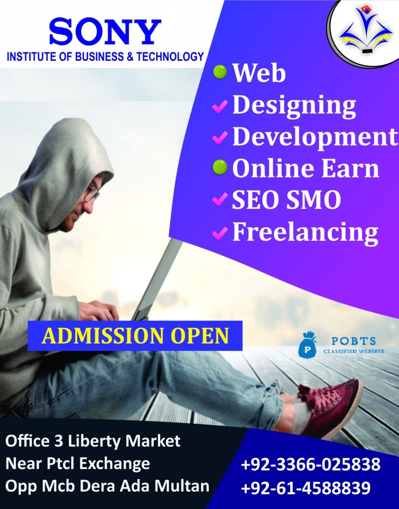 Web Designing & Development Course in Multan