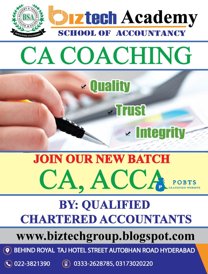 CA Coaching In Hyderabad By Chartered Accountants