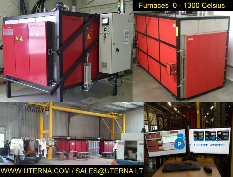 Austempering Automated Press Quenching Black Oxide