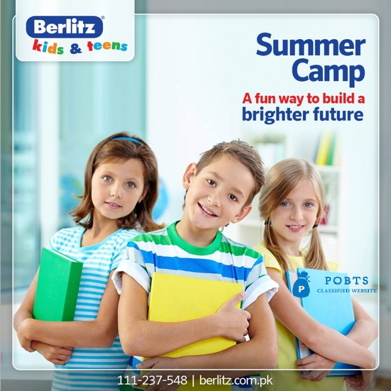 Summer camp in Karachi for kids and Teens Berlitz Pakistan