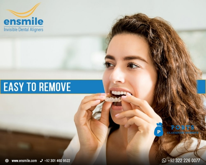 Invisible Dental Aligners in Lahore