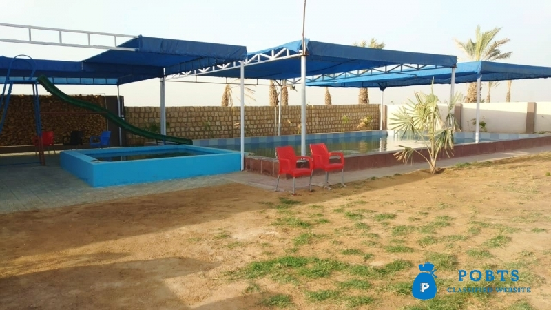 COMMERCIAL PLOTS Farm Houses on installments in a greenish Area