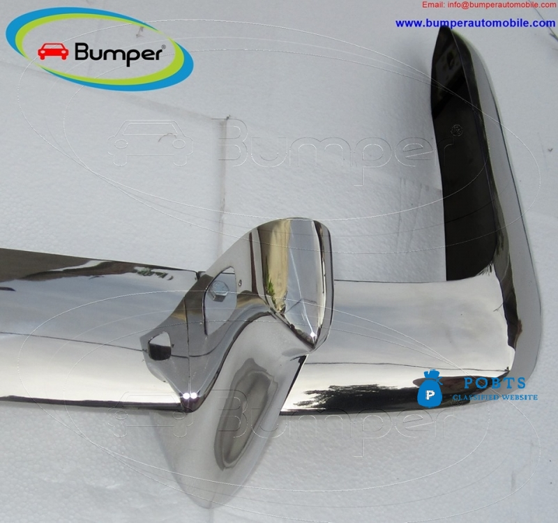 VW Type 34 bumper 1962-1969 by stainless steel