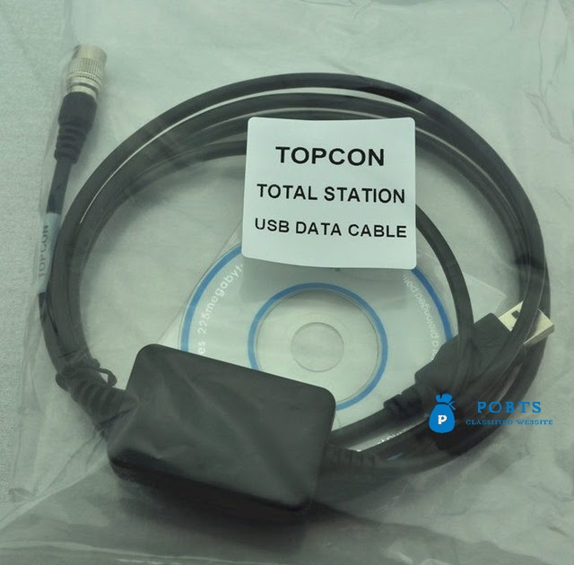 USB Data Download Cable for Total Stations
