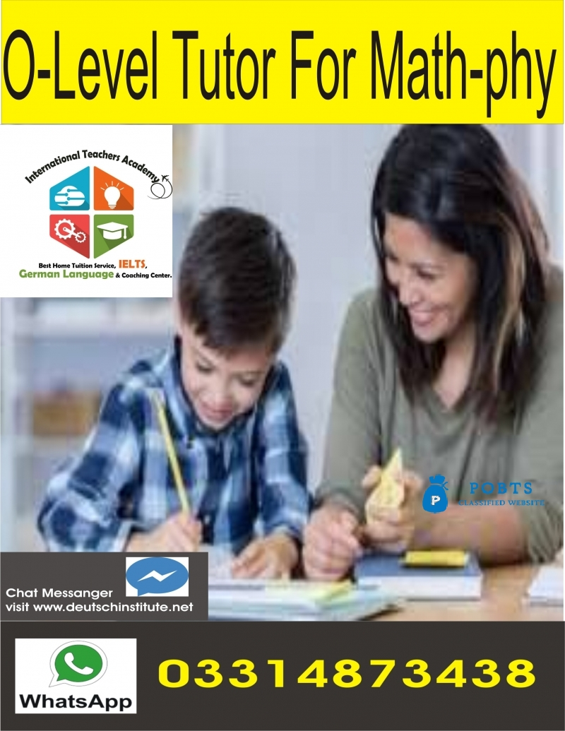 Get Olevel Home Tutor in Lahore 03314873438