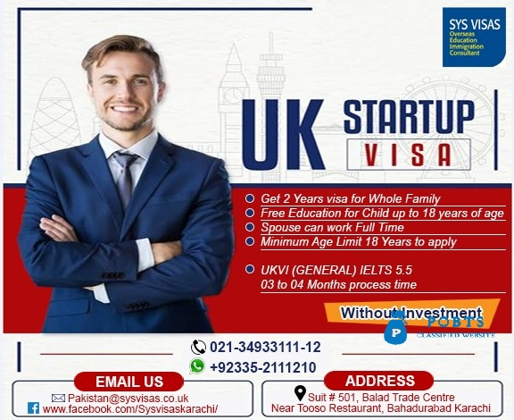 UK BUSINESS VISA WITHOUT INVESTMENT