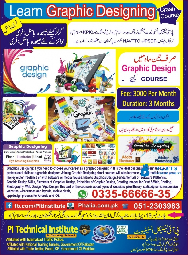Learn Graphic Designing Course
