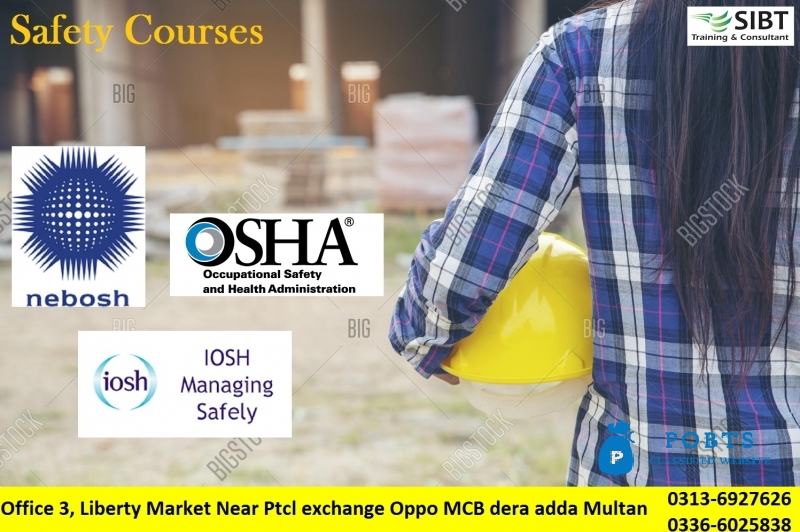 Safety officer course in Multan