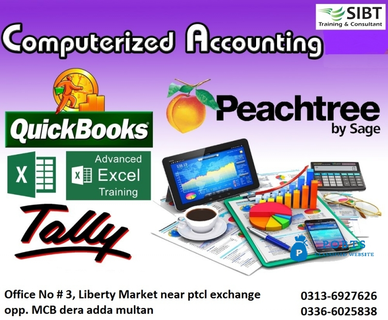 Computerized accounting Courses in Punjab