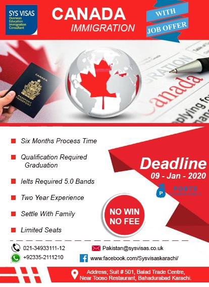 Canada Immigration With Job Offer