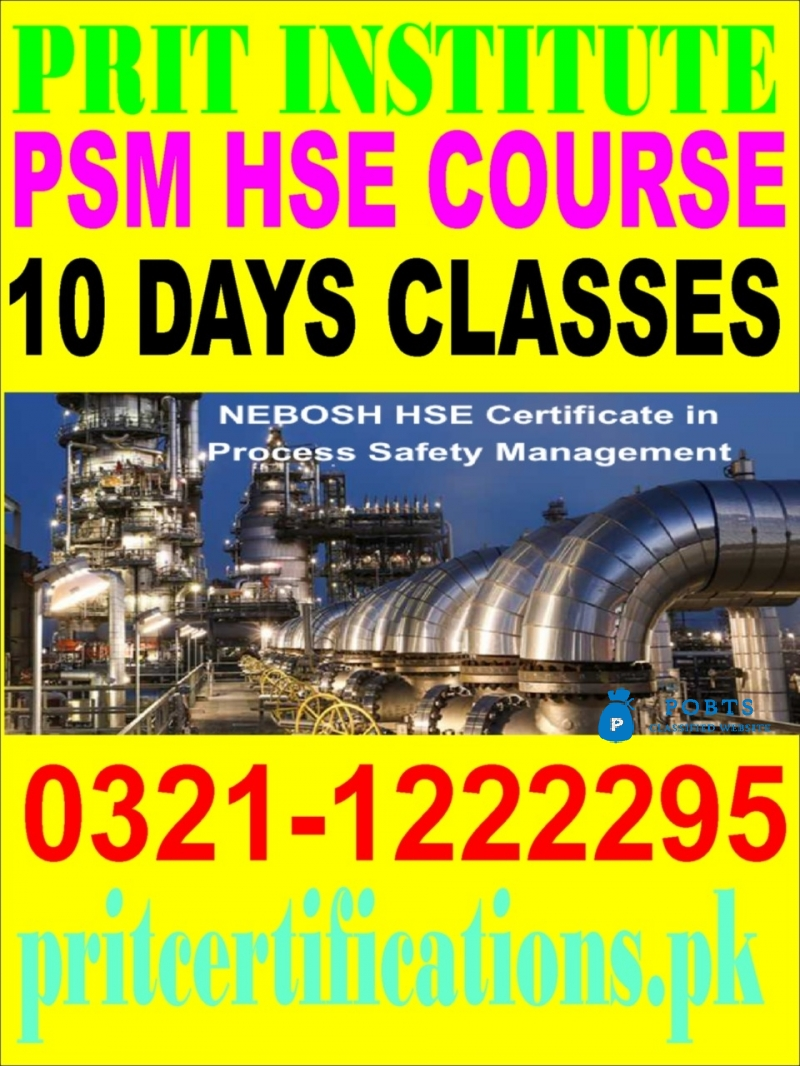 PSM Hse course in islamabad