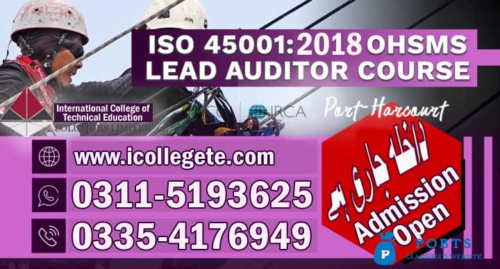 USA ISO 45001 Course in Pakistan