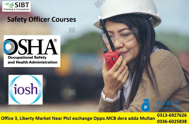 safety Officer Courses in multan