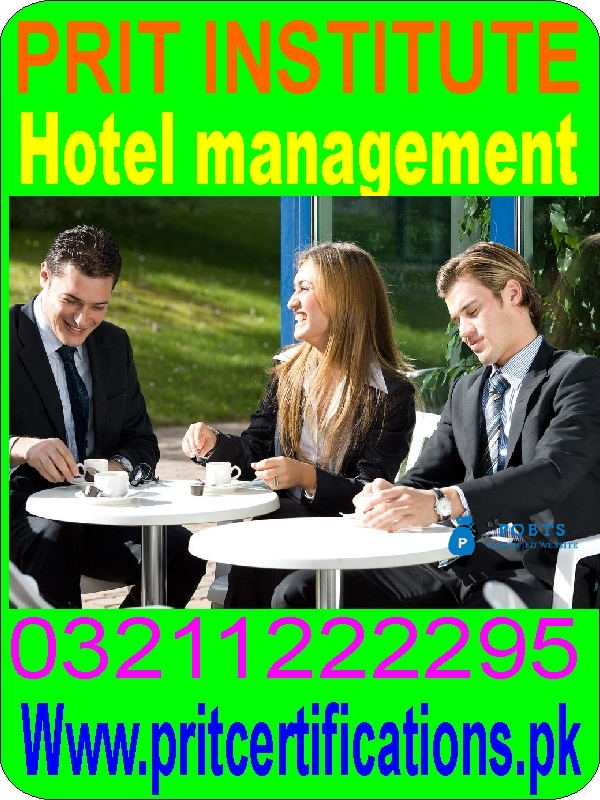 Hotel management diploma course in islamabad