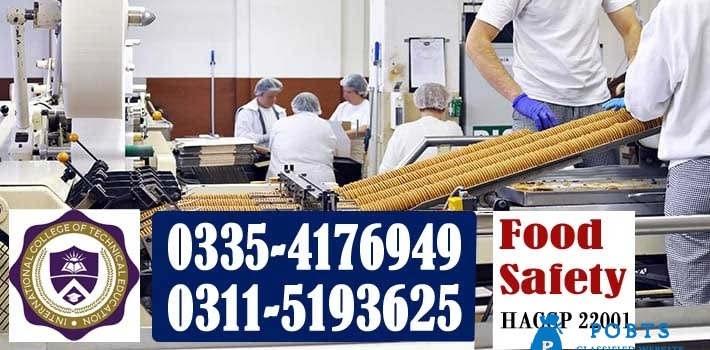 Diploma in food safety course in pakistan
