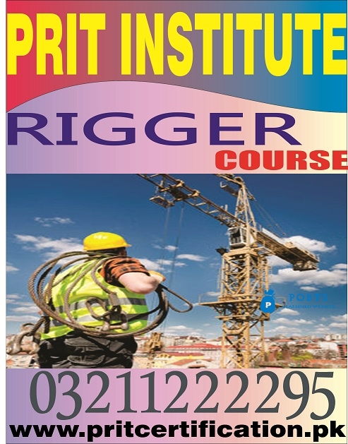 Rigger level 4 course in Pakistan