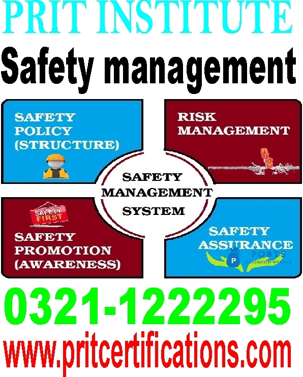 Safety management diploma course in islamabad