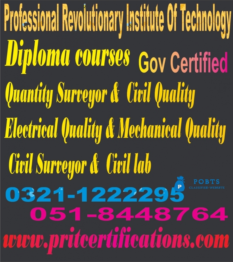 Quantity Surveyor Diploma Course in islamabad