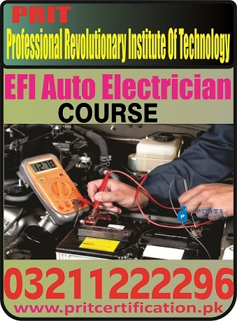 EFI Auto Electrician Course in Islamabad