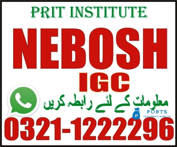NEBOSH IG new course in Chakwal