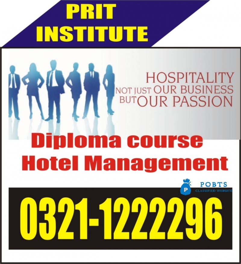 PRIT Hotel management course in Taxila, Wah Cantt, Rawalpindi