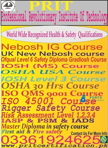 ISO QMS 9001 COURSE IN Lahore