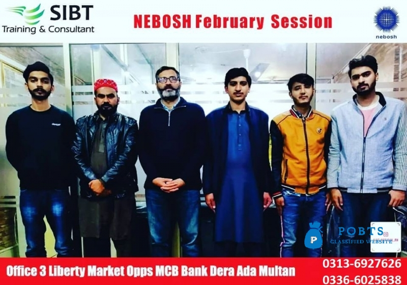 Nebosh courses in Multan