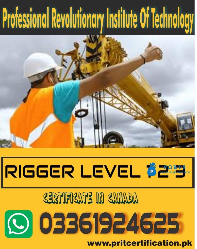 Rigger Level 2  Course In Islamabad