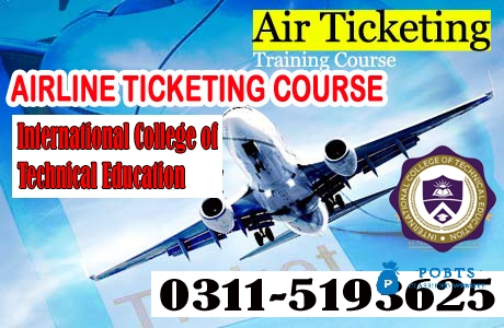 Air Ticketing and Reservation Management Course in Mardan Kohat