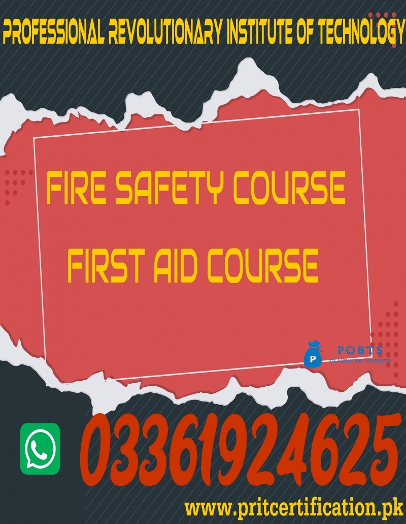 Fire Safety  course in  Rawalpindi