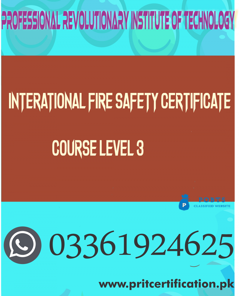 International Fire Safety Certificate Course Level 3 in Swabi