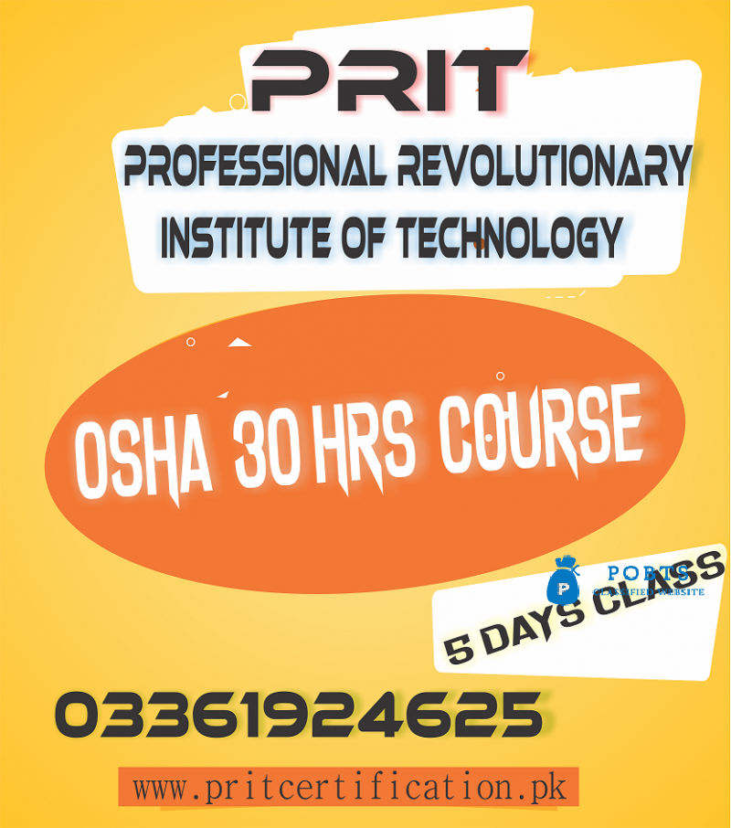 OSHA 30 HOURS COURSE IN swat