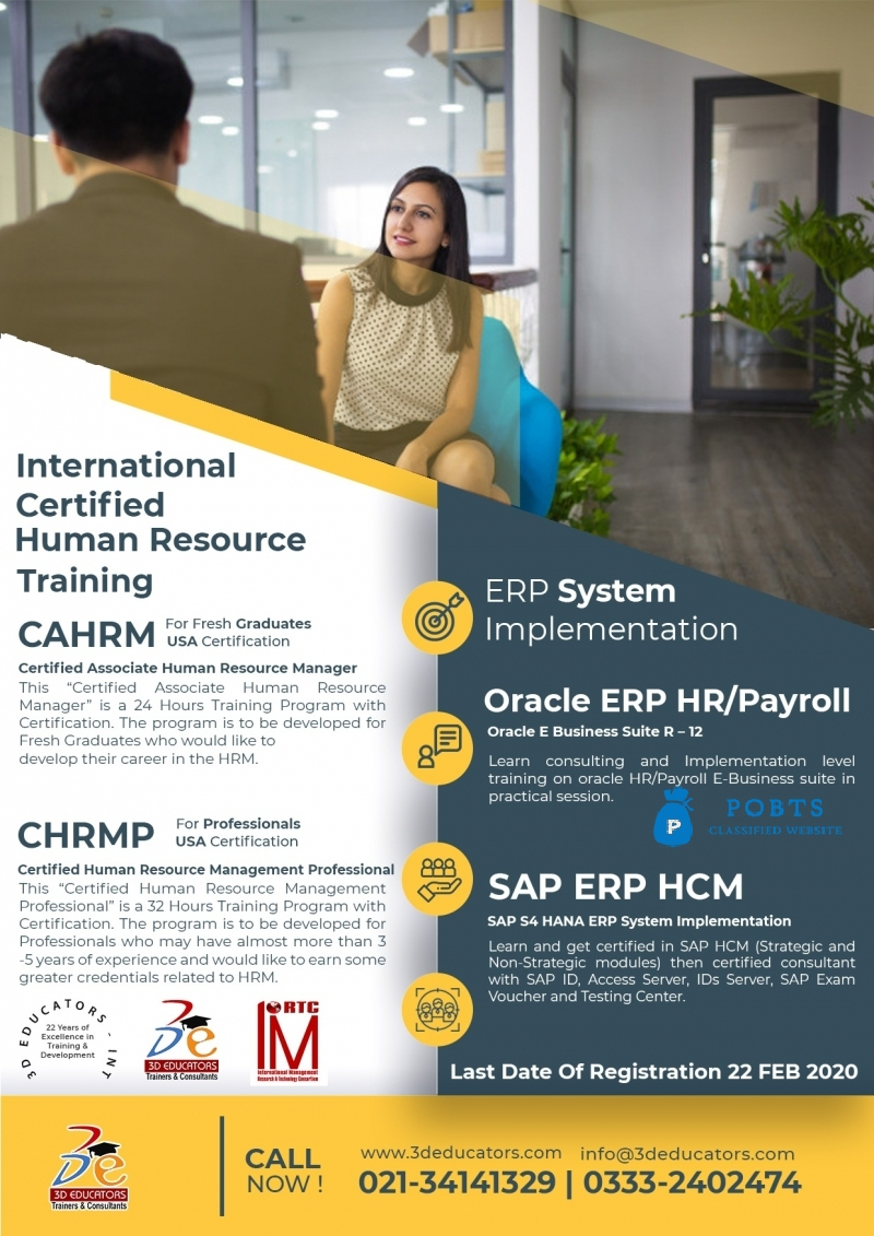 International Certified Human Resource Training