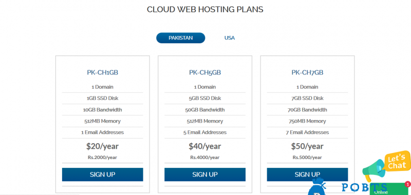 Pakistan Cloud Hosting Provider, Dedicated Server Hosting, SSD VPS Hosting