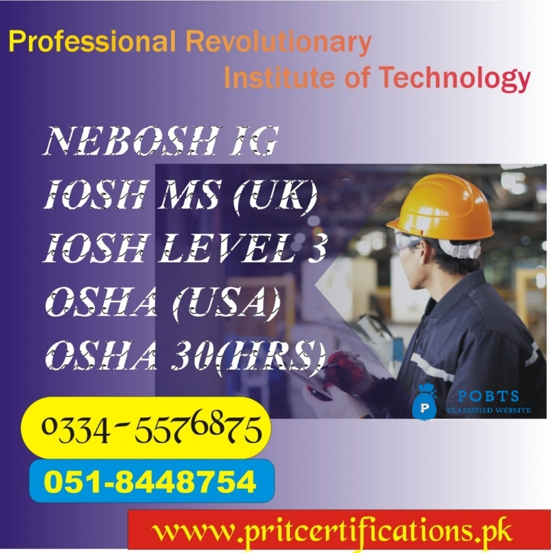 New Nebosh Course in Chakwal