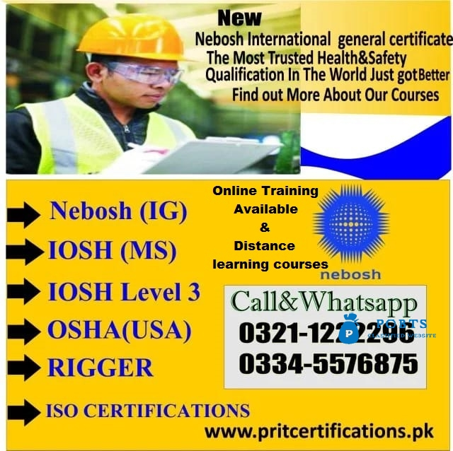 IOSH COURSE IN CHAKWAL