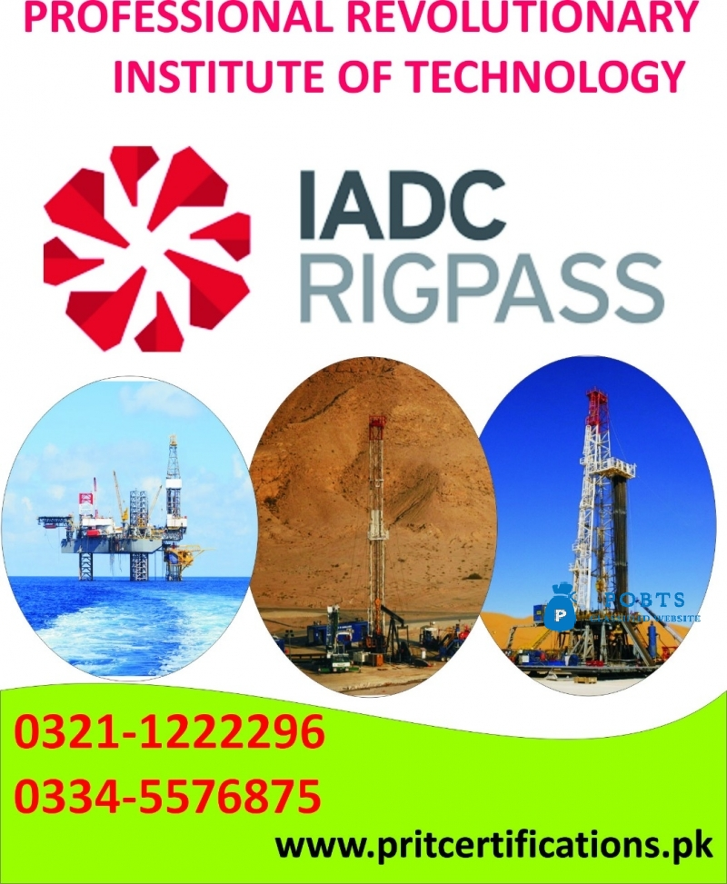 IADC RIG PASS COURSE IN ISLAMABAD